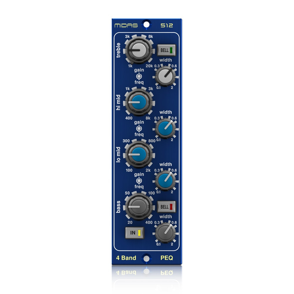 MIDAS 512 Parametric Equaliser 500 Series