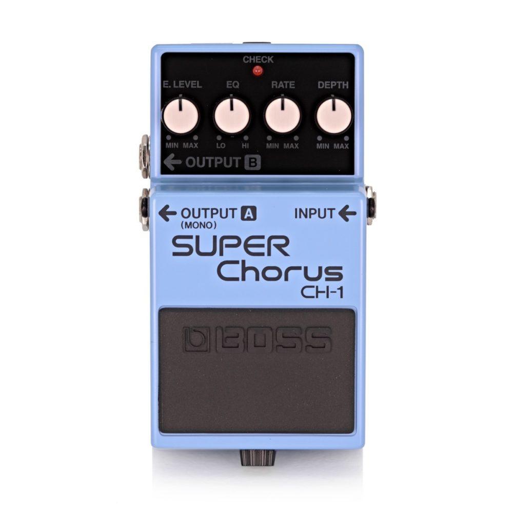 Boss CH-1 Super Chorus Guitar Effects Pedal