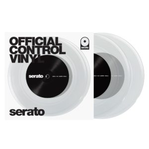 "Serato Performance 7"" Control Vinyl Clear"