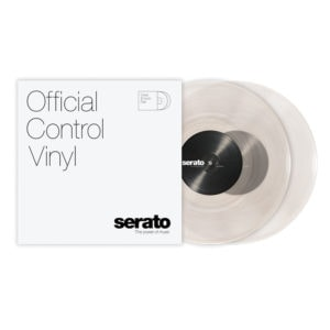 Serato 10'' Performance Control Vinyl Clear