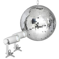 Chauvet DJ EZpin-IRC Mirror Ball Pack 12