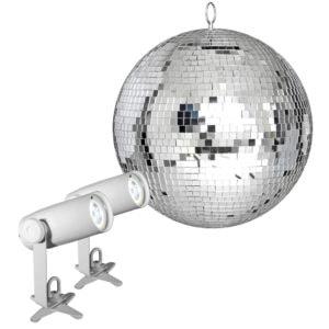 Chauvet DJ EZpin-IRC Mirror Ball Pack 12