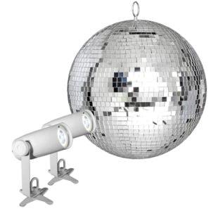 Chauvet DJ EZpin-IRC Mirror Ball Pack 16