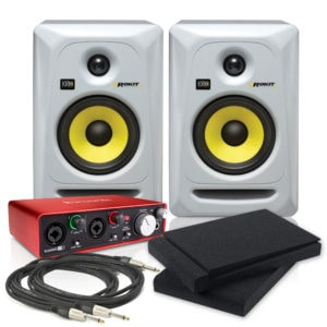 KRK Focusrite 2i2 Studio Pack
