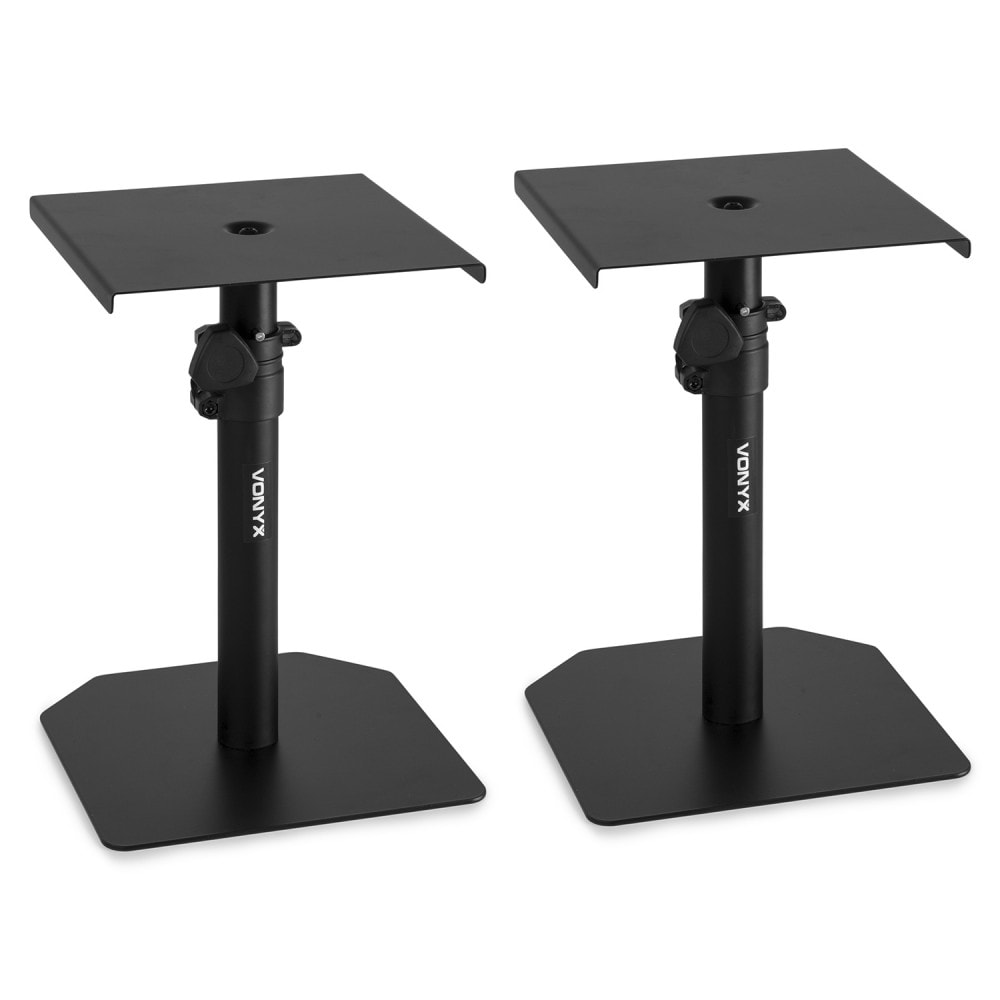 vonyx sms10 studio monitor table stand pair dj city. Black Bedroom Furniture Sets. Home Design Ideas