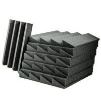 Acoustic Foam Wedge Charcoal - 20 Pack