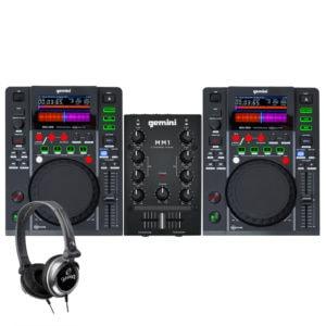Gemini MDJ-500 DJ Starter Pack