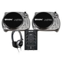 Gemini PK-TT1100USB Vinyl DJ Starter Pack