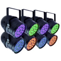 RGB Par Can 8 Pack