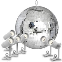 Chauvet DJ EZpinPack Mirror Ball Pack 20