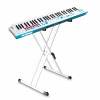 Korg Kross2 61 Key Music Workstation Grey Blue Neon with FREE Stand
