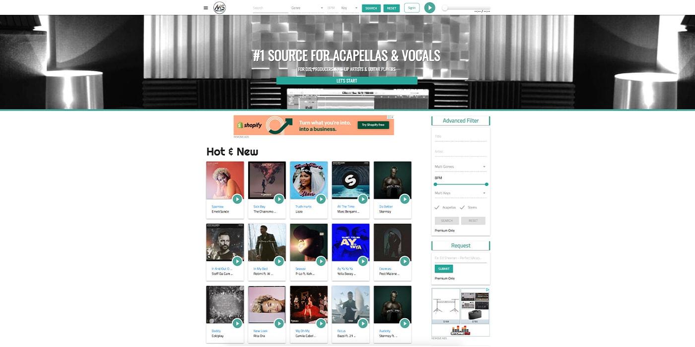 MS Project Sound Free Acapellas