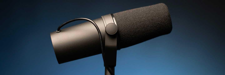 Shure SM7B Streaming Microphone