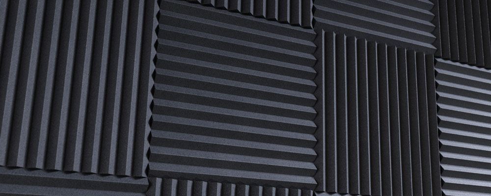 Acoustic Foam Cheaply Soundproofing a Room