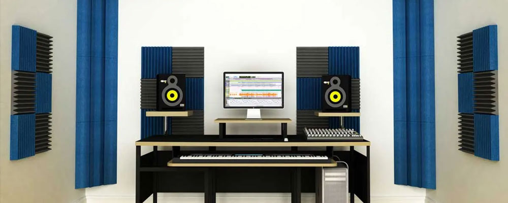 Acoustic Foam placement soundproof